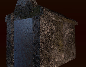 Old Tomb Pointed 3D model
