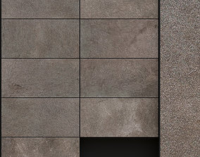 3D model ABK Solutions Rock Taupe 300x600 Set 1
