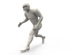 American footballer Pose american 3D print model