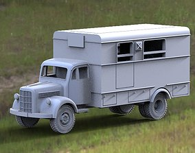 3D printable model postal machine
