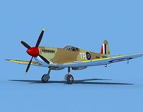 3D model Supermarine Spitfire Mk IXb V04