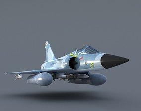 3D Simple Brazilian Mirage 2000c
