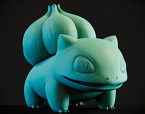 Pokemon Bulbasaur 3d print model famous