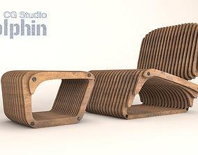 2018 Organic chair 3D Model