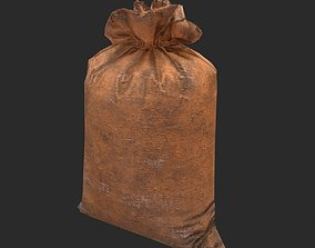 3D asset Lowpoly Sack