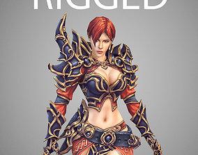 Battle Magistress 3D asset