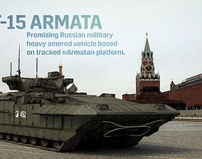 3D model PBR T-15 ARMATA