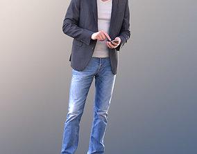 Lars 10423 - Standing Casual Man 3D asset