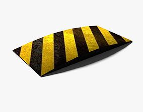 Speed Bump 3D asset
