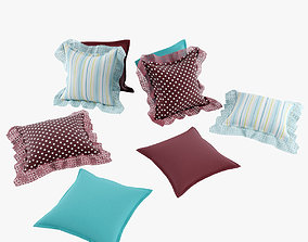 3D model Provence Pillows furniture