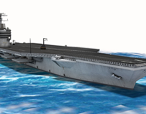 USS George Washington Aircraft Carrier 3D model