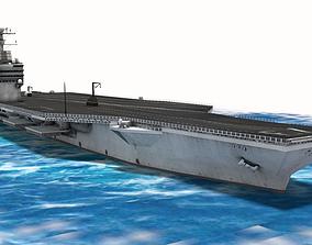USS George Washington Aircraft Carrier 3D model