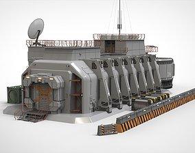 3D sci fi hub