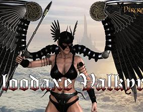 3D asset Bloodaxe Valkyrie
