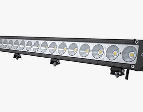 3D model Large LED Light Bar
