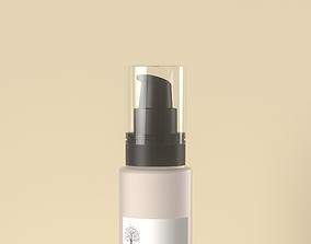 3D Cosmetic spray bottle