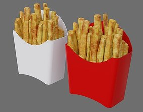 French Fries 1A 3D asset