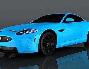 3D asset Jaguar XKR
