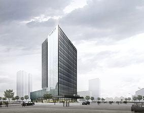 3d building 858