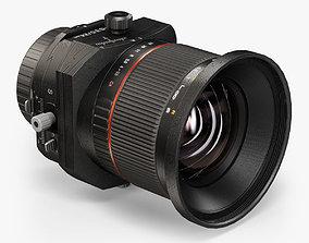 Bower 24mm f 3-5 ED AS UMC Tilt-Shift lens 3D asset