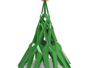 Christmas tree 3D print model