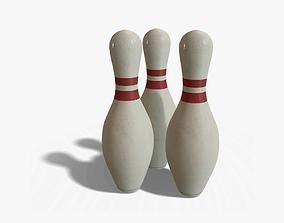 3D model Bowling Pin