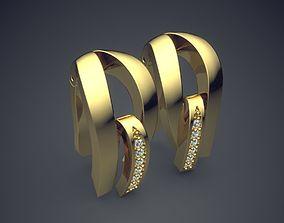 Earrings CAD 3040 3D printable model