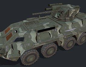 BTR-4 3D asset game-ready