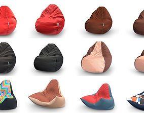 3D asset Bean Bag Collection