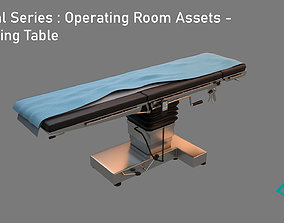 3D model Medical Series - Operating Room - Operating Table