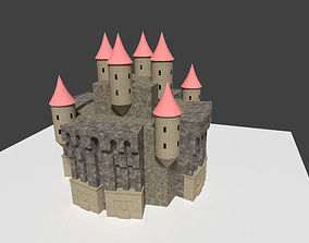 dark gothic castle 3D model