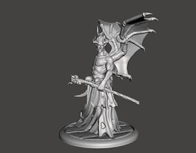 Demon mage Sorcerer print 3d
