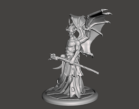 Demon mage Sorcerer print 3d