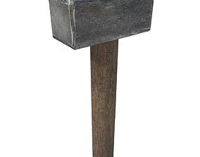 3D model game-ready Hammer