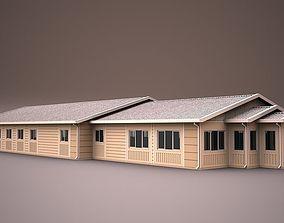 PREFABRICATED BUILDING 5 3D