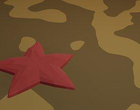 StarFish 3D asset animated