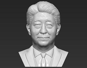 Shinzo Abe bust 3D printing ready stl obj formats