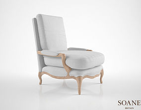 3D model Soane The Bergere Chair