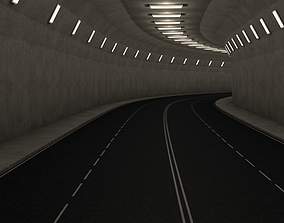 3D model Highway Tunnel