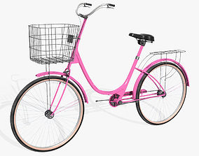 3D model Ladies Bicycle
