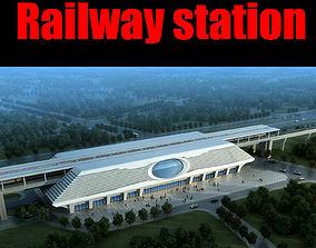 saint-petersburg 3D Railway station