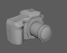 3D asset Canon camera