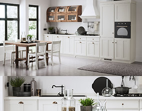 3D asset VR / AR ready KITCHEN Scavolini