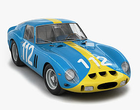3D Ferrari 250 GTO - 3445GT - No Engine