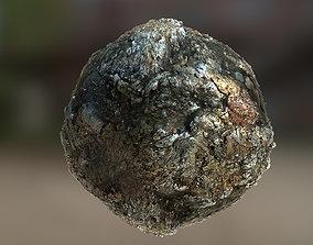 PBR Material Texture set 005 Metallic Lava Volcano 3D