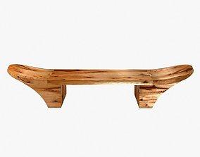 3D model Chista furniture - mir wooden bench