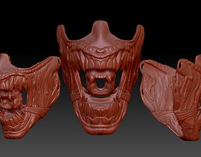 ALIEN inspired face mask 3D print model