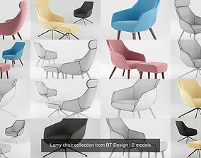 3D model Lamy chair collection from BT Design