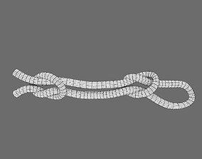 3D asset fisherman knot