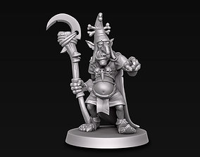 3D printable model goblin Goblin wizard